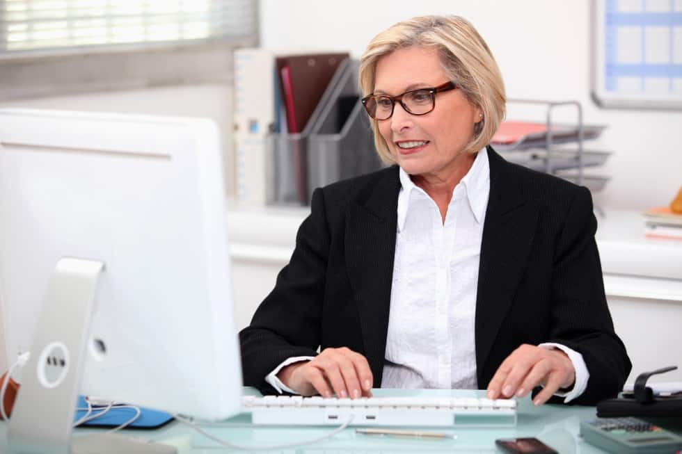 Increasing numbers of older employees are staying on at work